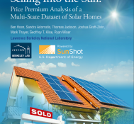 New Study from Lawrence Berkeley Lab Shows Solar Improves Home Value