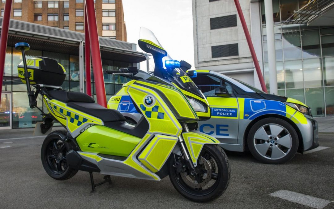 Scotland Yard to adopt new fleet of hybrid police cars and bikes to combat toxic air in London