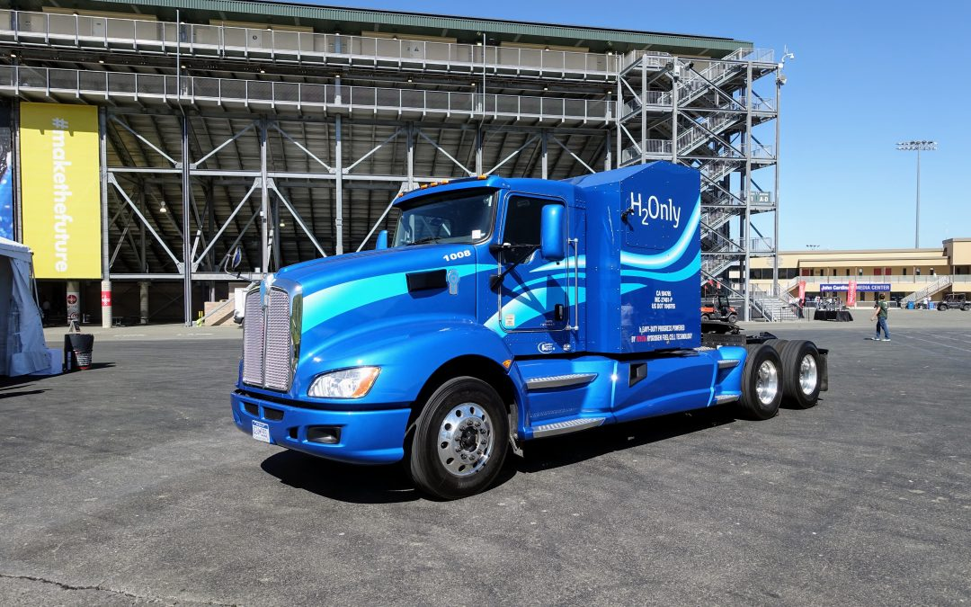 Toyota Explores The Potential Of A Hydrogen Fuel Cell Powered Class 8 Truck
